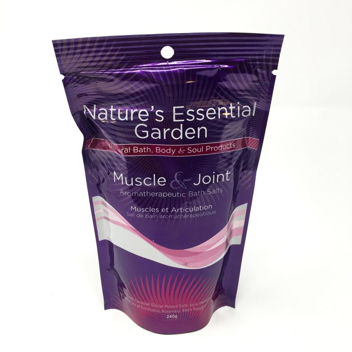 Aromatherapeutic Bath Salts - Muscle & Joint - 240 g