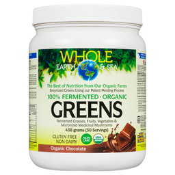 [11020690] Fermented Organic Greens - Chocolate - 438 g
