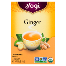 [10008052] Tea - Ginger - 16 count
