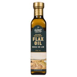 [10012453] Cold-Pressed Organic Flax Oil - 250 ml