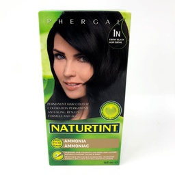 [10025625] Permanent Hair Color - 1N Ebony Black - 165 ml
