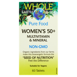 [10679600] Pure Food Women's 50+ Multivitamin & Mineral - 60 tablets