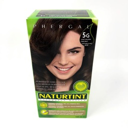 [10025636] Permanent Hair Color - 5G Light Golden Chestnut - 165 ml