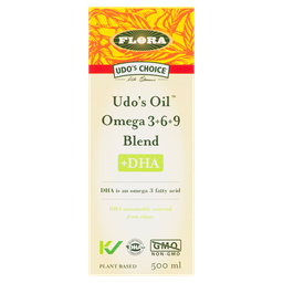[10006322] Udo's Oil Omega 3+6+9 Blend +DHA - 500 ml