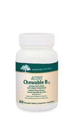 [11043378] Active Chewable B12 with L-Methylfolate - 60 chews