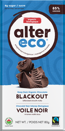 [10367100] Chocolate Bar - Blackout - 80 g