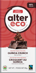[10367500] Chocolate Bar - Quinoa - 80 g
