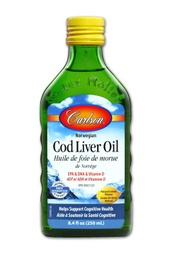 [10008472] Wild Norwegian Cod Liver Oil - Lemon 1,100 mg omega-3s - 250 ml